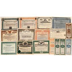 Safe & Lock Company Stock Certificates (11)  [127363]