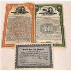 Silk Stocking Stock/Bonds  [122429]