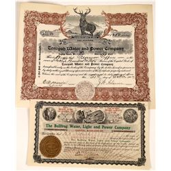 Rare Tonopah Nevada Utility Stock Certificate   [127465]