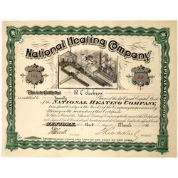 National Heating Company Stock Certificate  [127456]