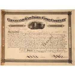 Ohio Gas, Light & Coke Co. Stock Certificate  [127835]