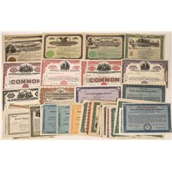 Electric Company Stock and Bond Certificates (54)  [118779]