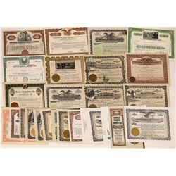 Electric, Gas & Power Company Stock Certificates (25)  [127498]