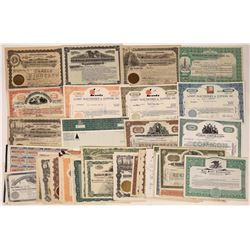 Various Oil & Gas Support Company Stock Certificates (65)  [118786]