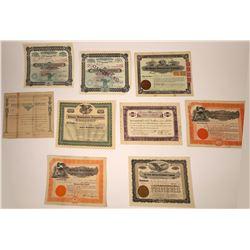 Arizona Land & Finance Stock Certificates  [107936]