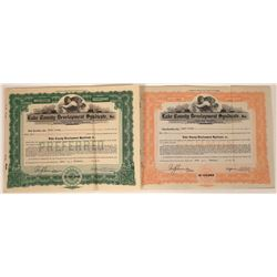 Lake County Development Syndicate, Inc. Stocks  [113925]