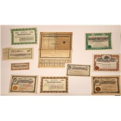 California Land Companies Stock Certificates  [107939]
