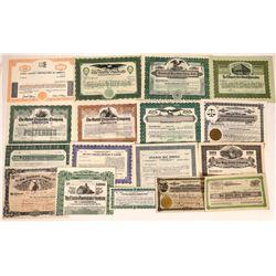 California Real Estate, Development, & Finance Stock Certificates  [113910]