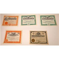 Idaho Land & Finance Company Stock Certificates  [107933]