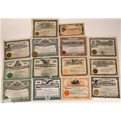 Montana Real Estate and Land Stock Certificate Collection  [129586]