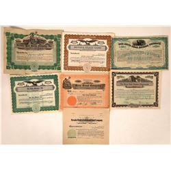 Nevada Finance & Development Stock Certificates  [113940]
