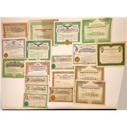 Nevada Financial & Investment Companies Stock Certificates  [107956]