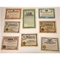 New Mexico Land & Mining Stock Certificates  [107935]