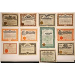 Oregon Investment & Land Company Stock Certificates  [107937]