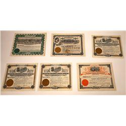 South Dakota, Montana, and Wyoming Land & Finance Co. Stocks  [107934]
