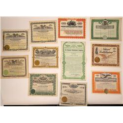 Washington State Land & Finance Stock Certificates  [107938]