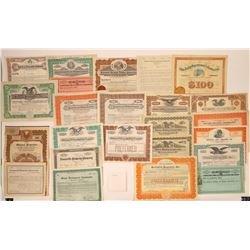 East & Midwest Property & Holding Co. Stock Certificates  [107927]