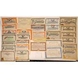 Western Loan & Investment Company Stock Certificates  [107932]