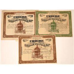 Friede Globe Tower Co. Fraudulent Stock Certificates (3)  [127346]