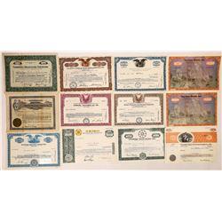 Radio & Television Company Stock Certificates (20)  [126980]