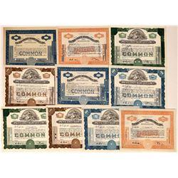 Pacific Coast Aggregate Company Stock Certificates  [127383]