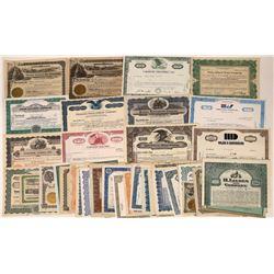California Corp.  Stock/Bonds, Big Collection  [122440]