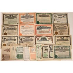 Michigan Stock Certificates and Bonds Collection (30)  [127735]