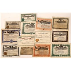 Billings, Montana Non-Mining Stock Certificate Collection  [129580]