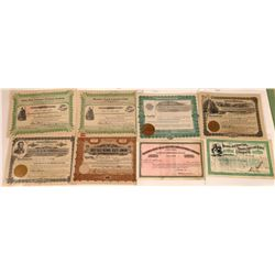 Great Falls, Montana Non-Mining Stock Certificate Collection  [129628]