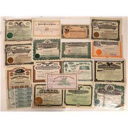 Helena, Montana Non-Mining Stock & Bond Collection  [129573]
