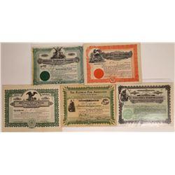 Montana Fair Associations Stock Certificates  [127586]