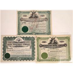 Montana Hotels Stock Certificate Pair  [127590]