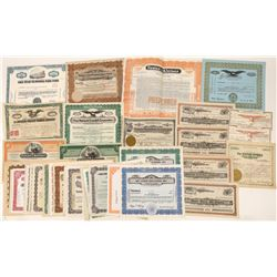 Nevada Stock Certificates and Bonds Collection (50)  [127736]