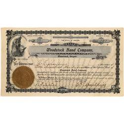 Oregon Band Company Stock Cert  [128950]