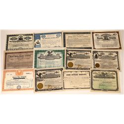 Gun & Blasting Powder Company Stock Certificates-12  [127365]