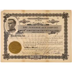 Pewther Gun Company Stock Certificate  [127354]