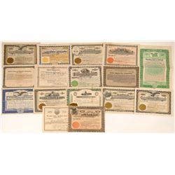 16 Union, Labor & Society Stock Certificates  [127362]
