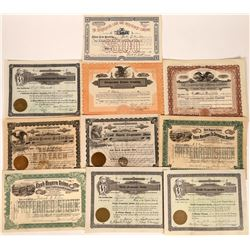 Co-Operatives Stock Certificate Group  [113931]