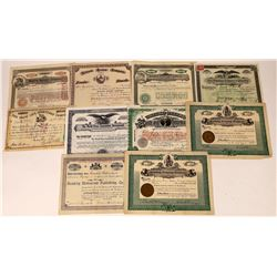 Publishing Company Stock Certificates-10  [127364]
