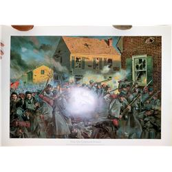 """Fire on Caroline Street"" Signed, Numbered print by Trioani  [122485]"
