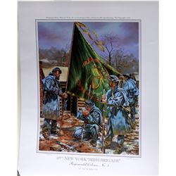 69th New York Regiment Signed, Numbered Print by reeves  [122489]