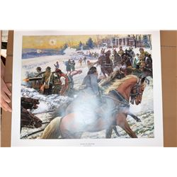Battle of Fredricksburg, Post of Honor signed and numbered print by Don Strivers  [122487]