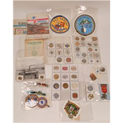 Mare Island Shipyard Token, Badge & Ephemera Collection  [131129]