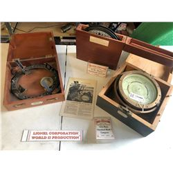 Lionel US Navy Standard Mark I Compass and Accessories  [133466]