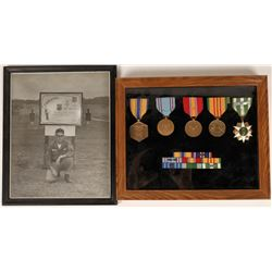 Vietnam Era Air Force Service Medals and bars  [127130]