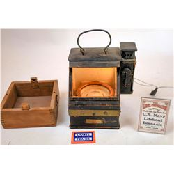 US Navy Lifeboat Binnacle Compass  [133464]