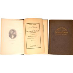 Memorial Book for Republican Party Co-Founder Zachariah Chandler  [131019]