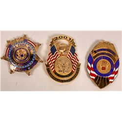 93,97 and 2001 Pres. Inauguration Badges  [131046]