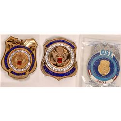 1989-2001 Pres. Inauguration Police Badges  [131048]