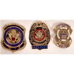 1989, 93, 97 Pres. Inauguration Police Badges  [131043]
